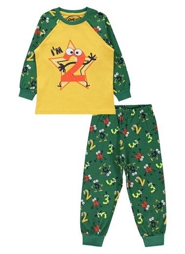 Civil Boys Civil Boys Erkek Çocuk Pijama Takimi 2-5 Yaş Koyu Yeşil Civil Boys Erkek Çocuk Pijama Takimi 2-5 Yaş Koyu Yeşil Renkli